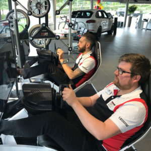 linked racer simulators