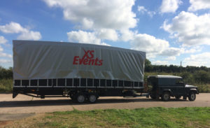 mobile stage hire